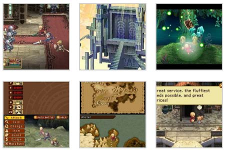 screenshots: radiant historia