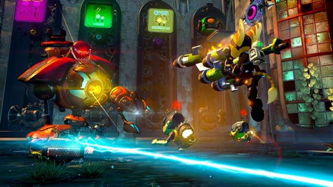 screens: ratchet und clank nexus