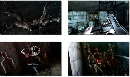 screens: resident evil darkside chronicles
