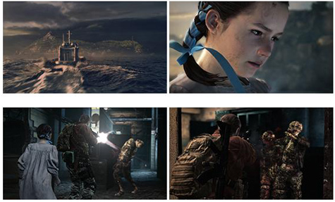 screens: resident evil revelations 2