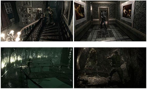 screens: resident evil remaster