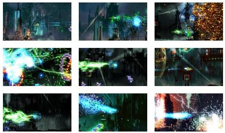 screens: resogun