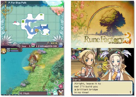 screens: rune factory 3
