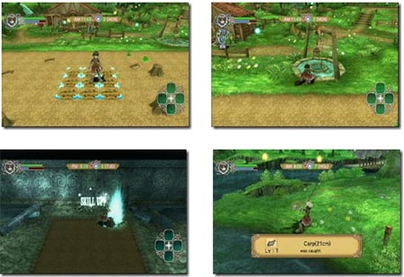 screenshots: rune factory - frontier