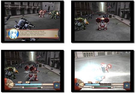 screenshots: sakura wars