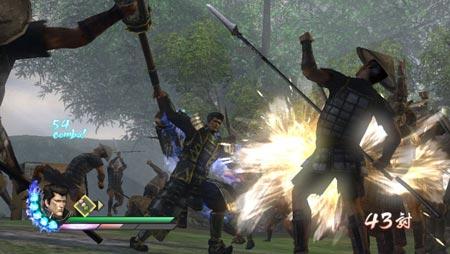 screenshots (II): samurai warriors 3Z
