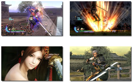 screens: samurai warriors 3Z