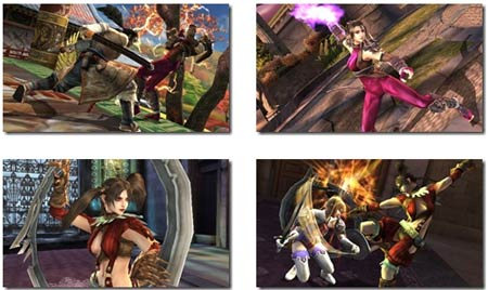 screens: soul calibur broken destiny