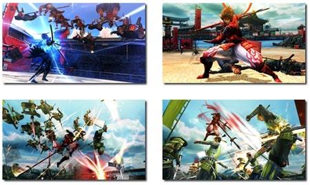 screens: sengoku basara