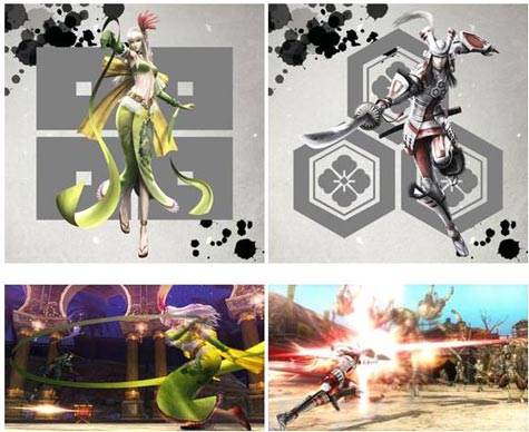 screens: sengoku basara 4
