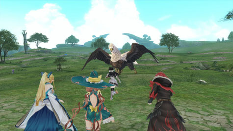 screenshots: shining resonance