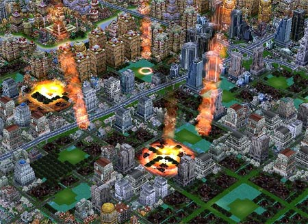 screens: sim city creator