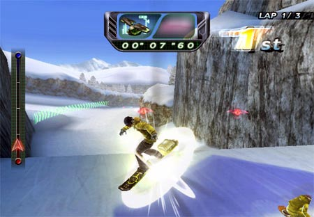 screens: snowboard riot