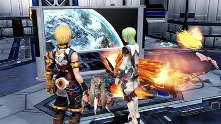 screenshots (II): star ocean 4 – the last hope