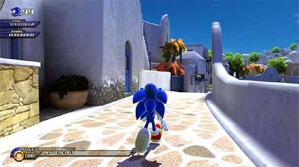 screenshots: sonic unleashed