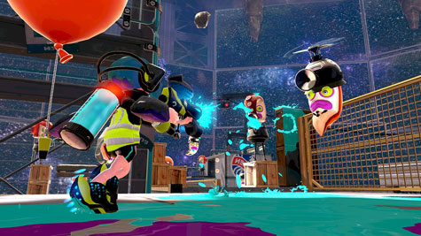 screens: splatoon