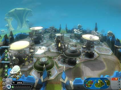 screenshots: spore