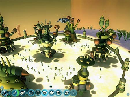 screenshots (II): spore