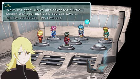 screenshots: star ocean – first departure