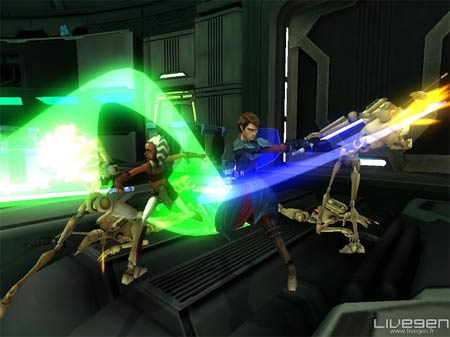 screens: star wars clone wars republic heros