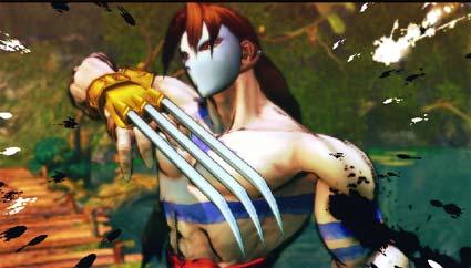screenshots: screen fighter IV