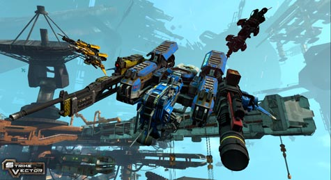 screens: strike vector