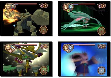 screens: summon night granthese