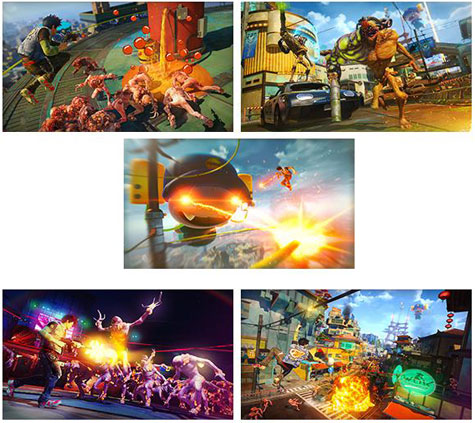 screens: sunset overdrive