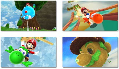 screens: super mario galaxy 2