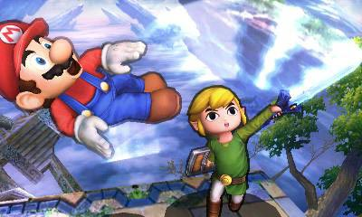 screens: super smash bros. 3ds