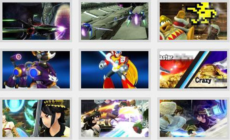 screens: super smash bros. wii u