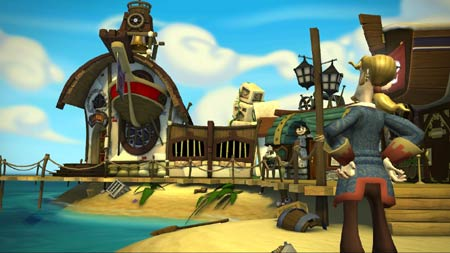 screenshots: tales of monkey island