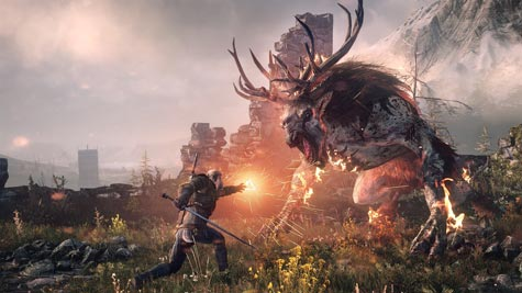 screens: the witcher 3
