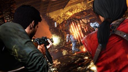 screenshots: uncharted 2