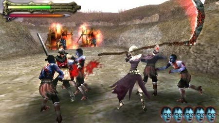 screens: undead knights