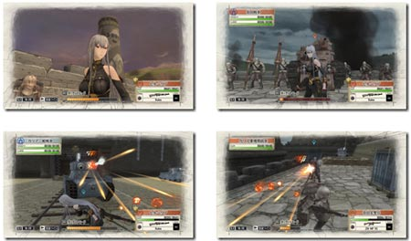 screenshots: valkyria chronicles