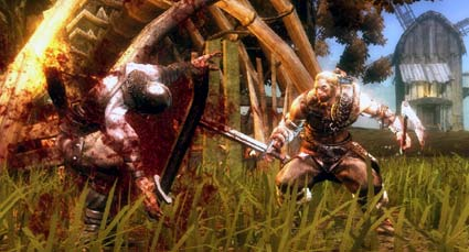 screenshots: viking – battle for asgard