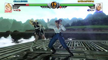 screenshots (II): virtua fighter 5