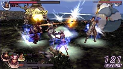 screenshots: warrior's orochi 2