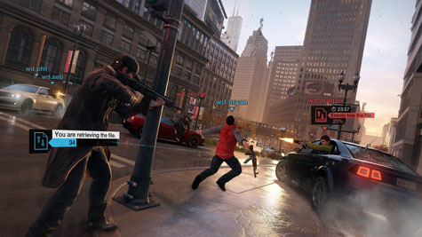 screenshots: watch dogs