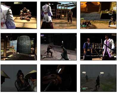 screens: way of the samurai