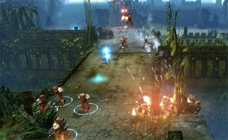 screens: warhammer 40000 dawn of war 2