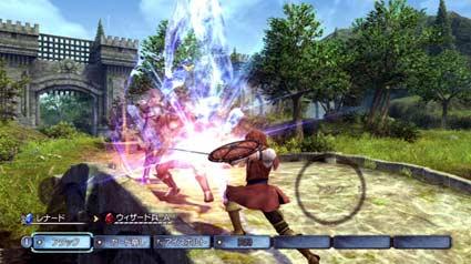 screenshots: white knight story
