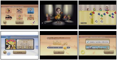screens: wii music