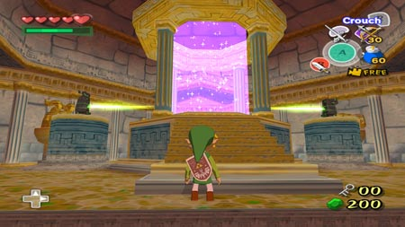 screens: wind waker HD