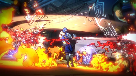 screens: yaiba: ninja gaiden z