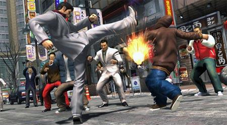 screenshots (II):  yakuza 3