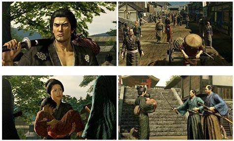 screenshots: yakuza ishin