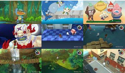 screenshots (V): yokai watch