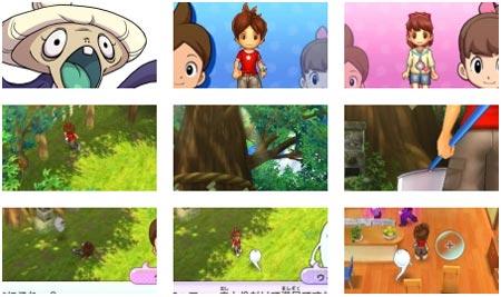 screenshots (II): yokai watch